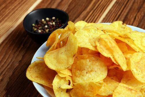 knusprige Pommes Frites - Chips