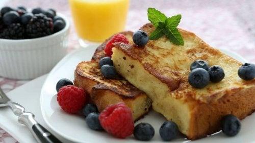 Muskelaufbau - Toast