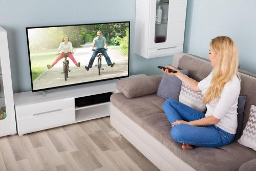 Fernseher ausprobieren