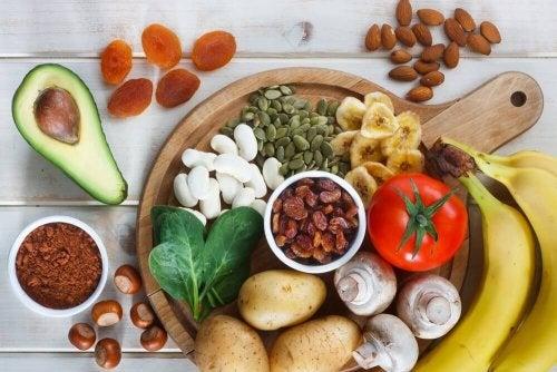 Lebensmittel, die Kalium enthalten