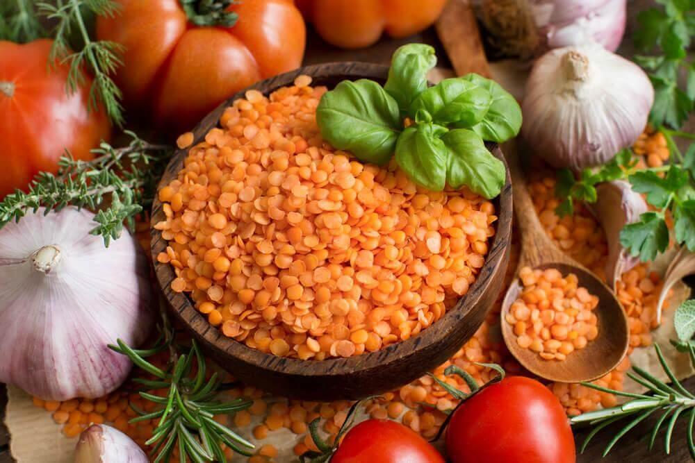 Rezepte für Linsensuppe mit roten Linsen