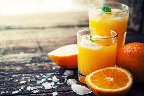 Orangensaft kann dick machen