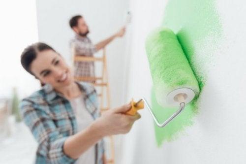 Fehler, die du beim Streichen deiner Wände vermeiden solltest
