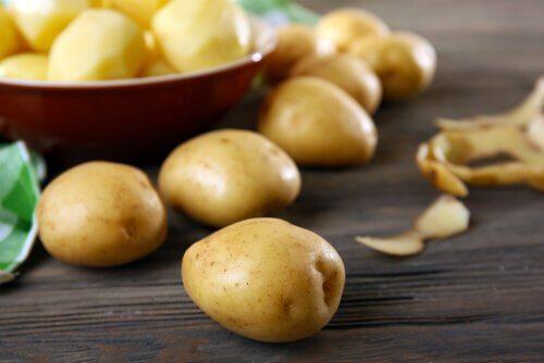 Kartoffeln für Filet aus dem Topf