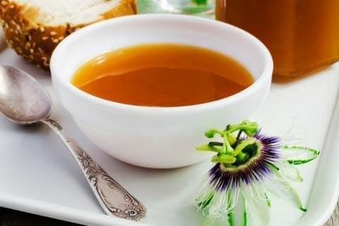Medizinische Pflanze Passionsblume