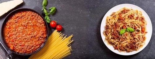 Spaghetti Carbonara nach hispanoamerikanischer Art