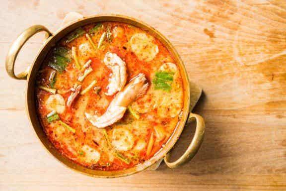 Leichtes Rezept für Suppe aus Meeresfrüchten