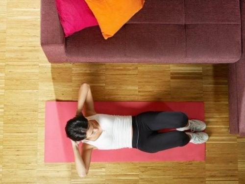 Training der Bauchmuskeln leicht gemacht