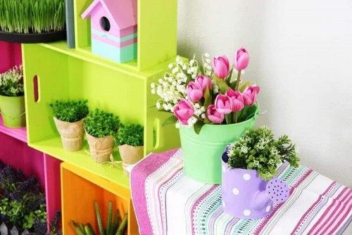 Kleiner Garten: vier Deko-Tipps