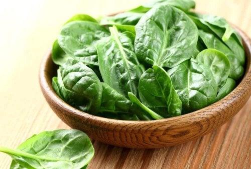 grüner Smoothie - Spinat