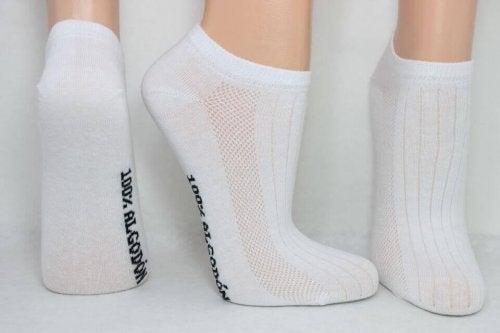 müffelnde Füße - Baumwollsocken