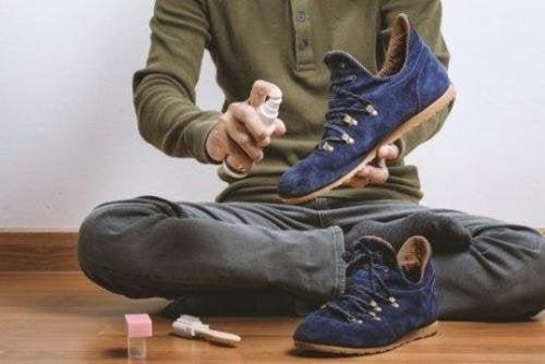 müffelnde Füße - Schuhe