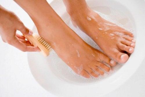 müffelnde Füße - Hygiene
