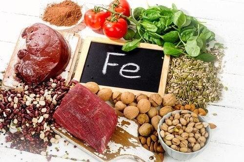 Normale Hämoglobinwerte durch eine eisenreiche Ernährung aufrechterhalten