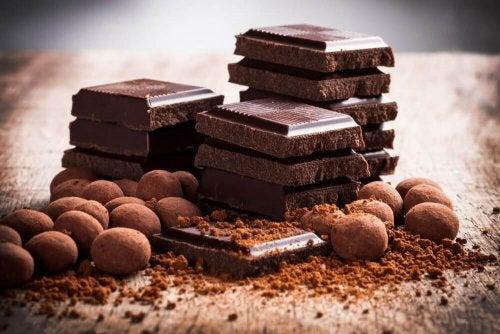 Zatbitterschokolade für Desserts