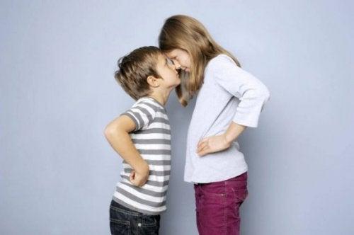 Streit unter Geschwistern