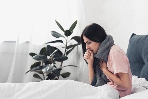 Hat Frau Grippe ode Erkältung?