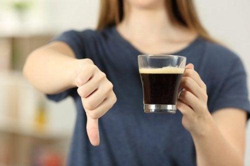 Kaffee während der Schwangerschaft vermeiden