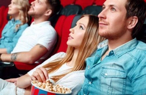 Liebesfilme schauen