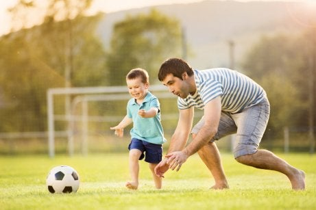 fettleibige Kinder brauchen Bewegung
