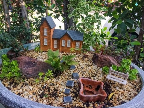 6 geniale Ideen für einen Miniatur-Garten