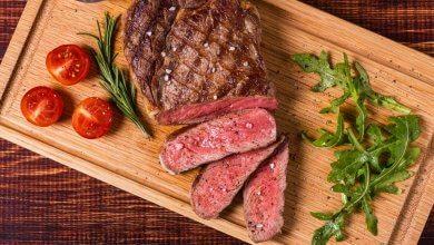 Rotes Fleisch in der Ernährung für gesundes Haar