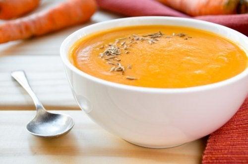 Karottencremesuppe
