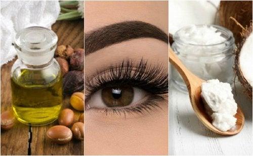 Naturprodukte für dichte Wimpern