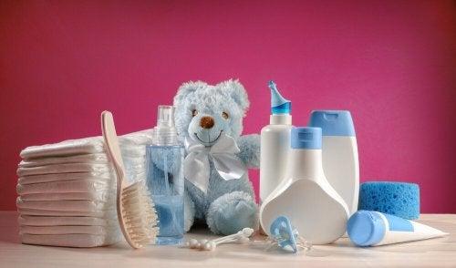 Pflegeartikel für Babys