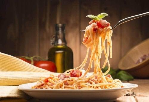 Spaghetti ist die wohl beliebteste Pastasorte