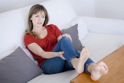 schädliche Gewohnheiten - Frau