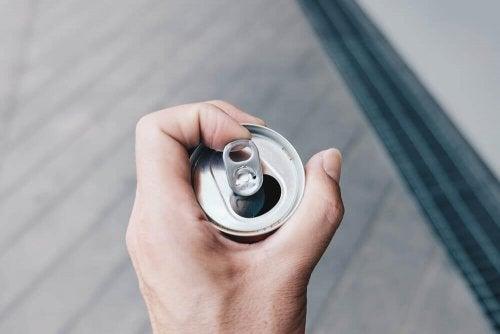 Blechdosen - Getränke