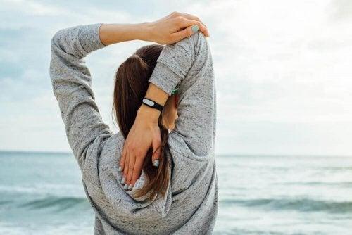 gutes Stretching - Atmung