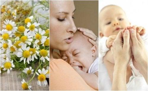 5 Naturheilmittel gegen Babykoliken