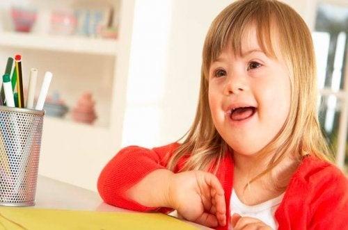 Erziehung von Kindern mit Down-Syndrom