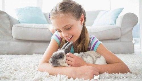 Tiere können Kinder Verantwortung lehren