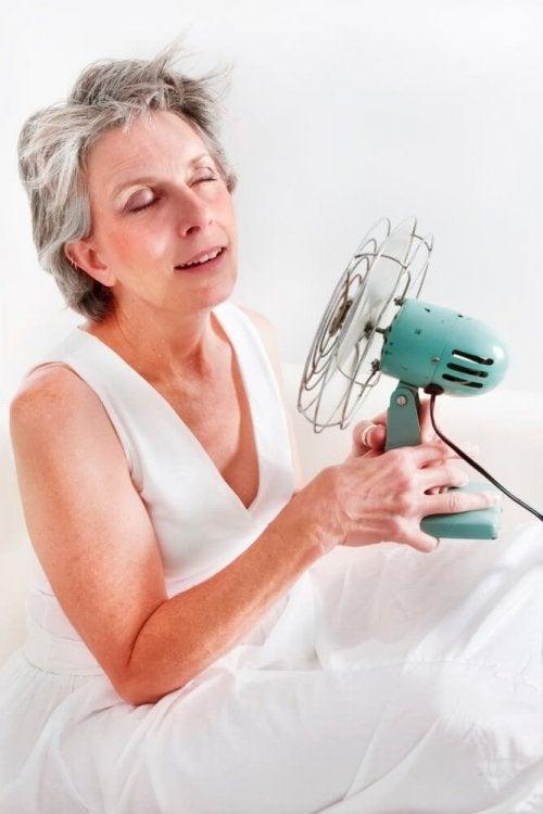 Hitzewallung in der Menopause