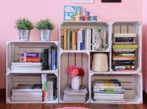 DIY-Bücherregal zuhause selber bauen