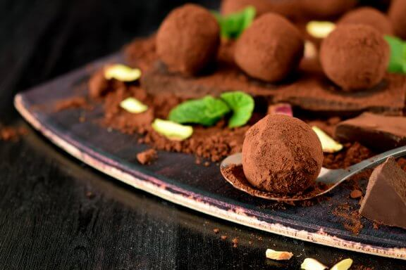 Edle Schokoladentrüffel selbst herstellen