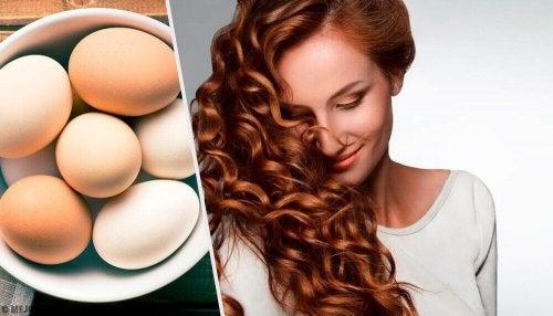 Haarkur mit Ei: selbstgemachte Haarpflege