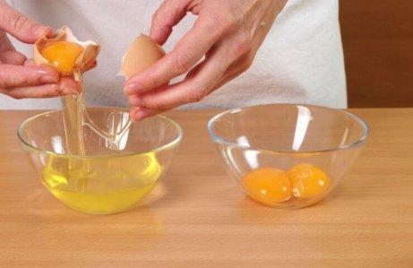 Haarkur mit Ei für fettes Haar