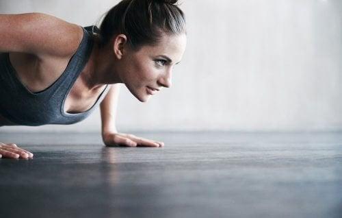 Fitness für die natürliche Hautstraffung