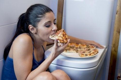 Strategien für den Gewichtsverlust: nicht schlingen!