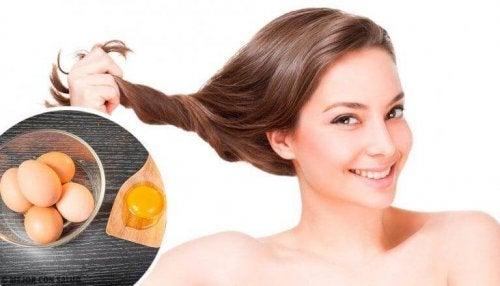 Welche Vorteile hat eine Haarkur mit Ei?