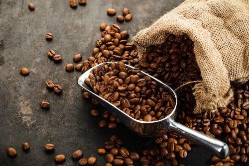 geröstete Kaffeebohnen als Lufterfrischer für die Küche