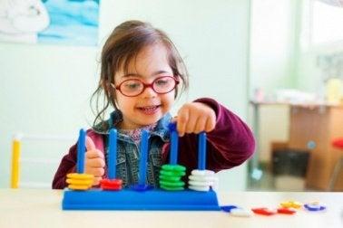 Aktivitäten für Kinder mit Down-Syndrom
