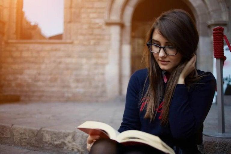 Lesen hat viele Vorteile für die Gesundheit!