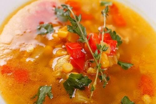 Mexikanische Suppe - Caldo Tlalpeño