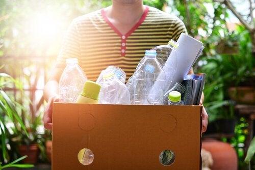 Plastik wiederverwenden