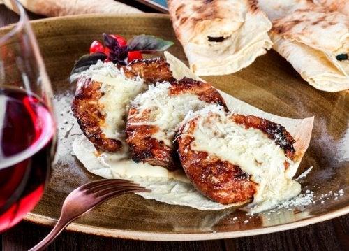 Rinderfilets mit Parmesan